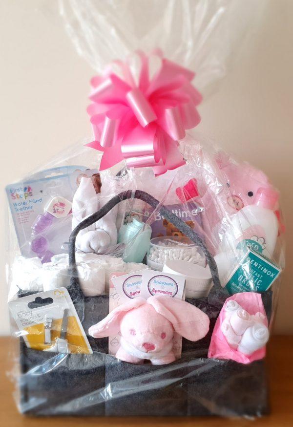 The Luxury Baby Hamper in Pink