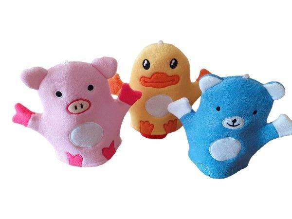Baby Animal bath glove