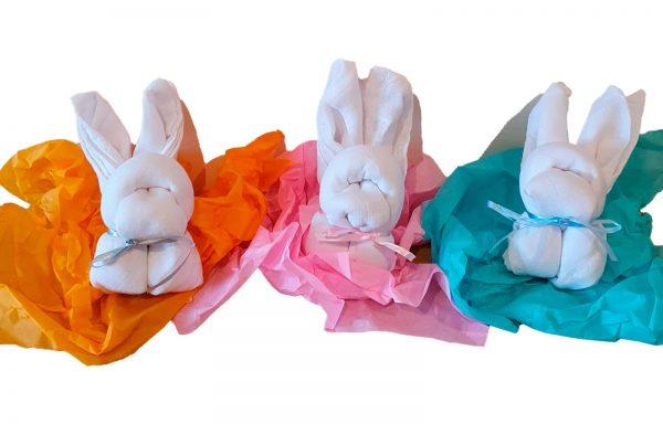 Muslin Cloth Bunnies