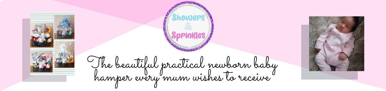 Showers and Sprinkles hamper header