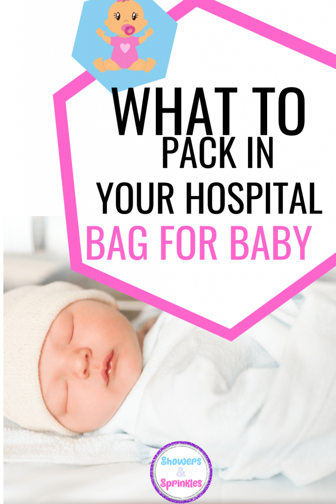 what too pck for your hospital bag for baby