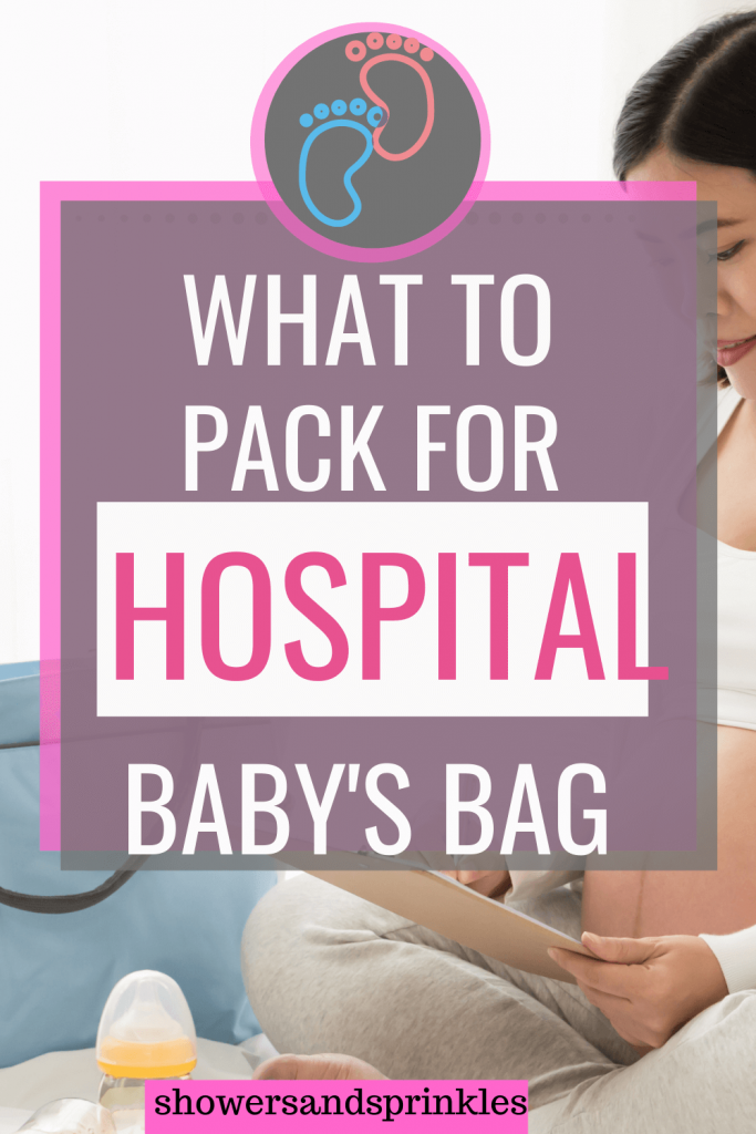 what to packk for your baby's hospital bag